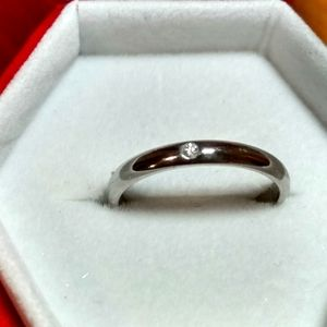 Authentic Cartier 1 point Diamond Ring